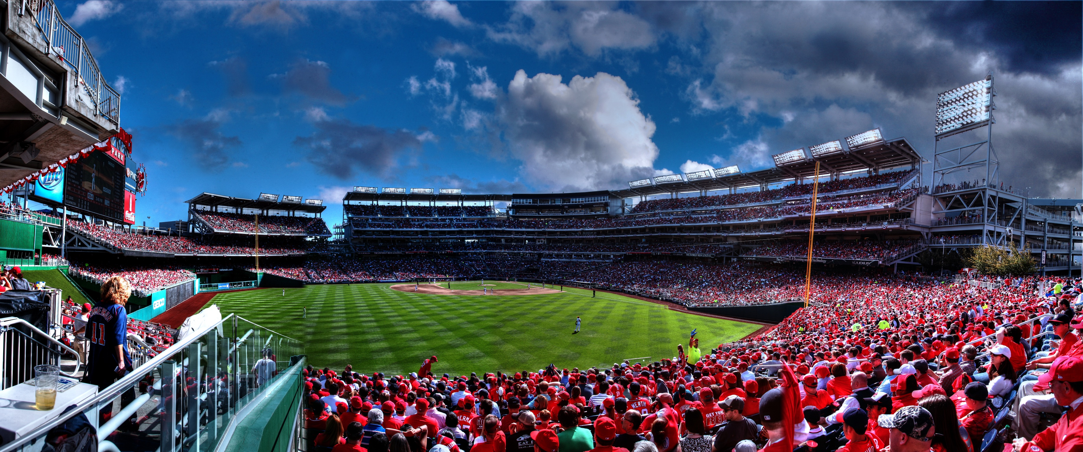 Nationals Stadium Panorama